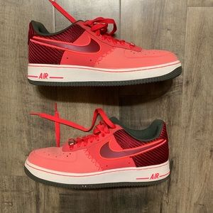 Nike Air Force 1 Atomic Red